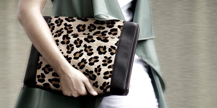 ドキュメントケース 13インチ - Amaranto - Granulated Leather